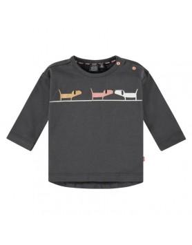 Μακρυμάνικο μπλουζάκι  για μικρά κοριτσάκια Babyface NWB21528628 ANTRA