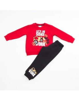 ΣΕΤ Παιδική Φόρμα  για αγόρι trax  40915 Κόκκινο