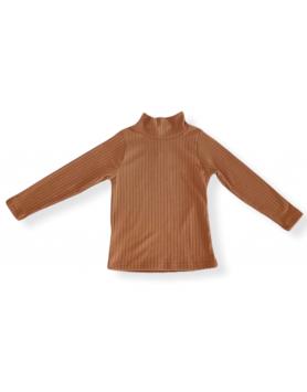 Μπλούζα ζιβάγκο ριπ Melin Rose MRW22-0201 Καμηλό