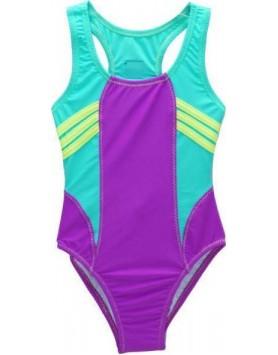 Μαγιό Ολόσωμο  Αθλητικό Για Κορίτσια  Tortue S1-660-161 πολύχρωμο